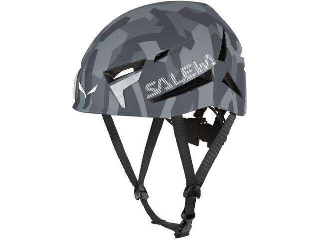 SALEWA Vega Helm, grey camo